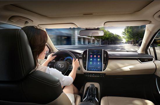 2021款一汽丰田卡罗拉上市车载互联配置升级