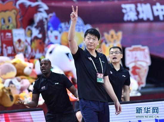 (体育)(14)篮球――CBA复赛第二阶段:深圳马可波罗对阵上海久事