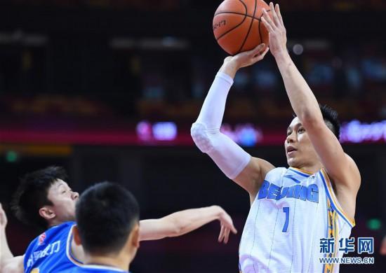 (體育)(3)籃球——CBA復賽第二階段:北京首鋼對陣福建豹發力