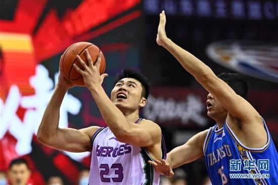 (體育)(1)籃球——CBA復賽第二階段:山東西王迎戰蘇州肯帝亞