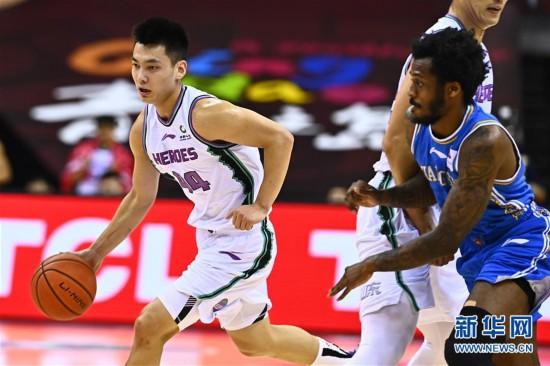 (體育)(10)籃球——CBA復賽第二階段:山東西王迎戰蘇州肯帝亞