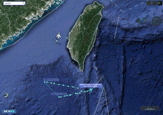 美军又派两架军机来中国近海侦察同时现身南海和黄海