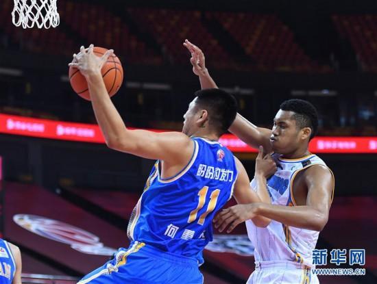 (體育)(12)籃球——CBA復賽第二階段:北京首鋼對陣福建豹發力