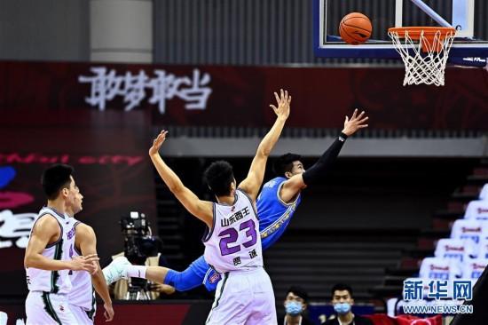 (體育)(2)籃球——CBA復賽第二階段:山東西王迎戰蘇州肯帝亞