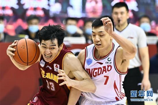 (體育)(8)籃球——CBA復賽第二階段:浙江稠州銀行勝青島國信雙星
