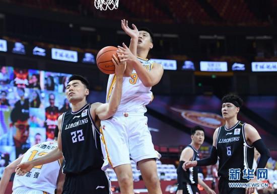 (體育)(19)籃球——CBA復賽第二階段:遼寧本鋼勝山西汾酒股份