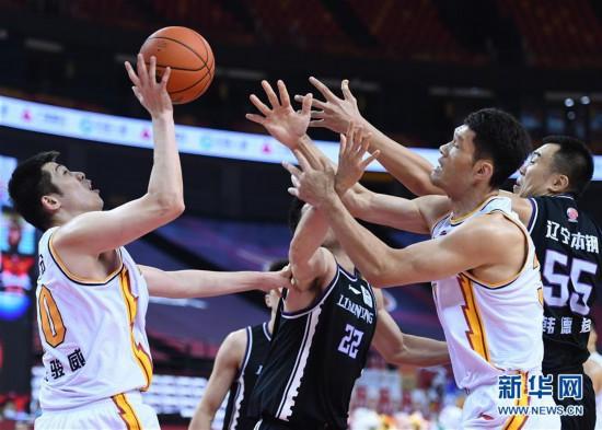 (體育)(10)籃球——CBA復賽第二階段:遼寧本鋼勝山西汾酒股份