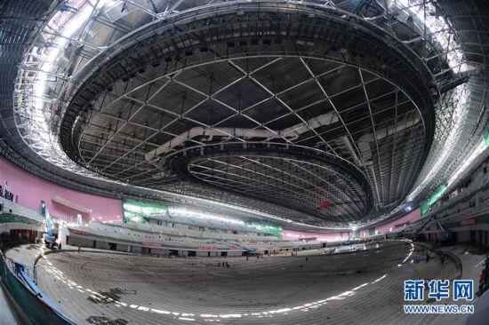 (体育·图文互动)(1)易转换、够低碳、可持续——解密北京冬奥场馆冰面建设亮点