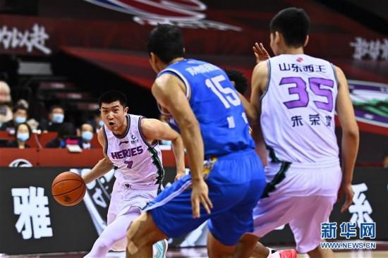 (體育)(5)籃球——CBA復賽第二階段:山東西王迎戰蘇州肯帝亞