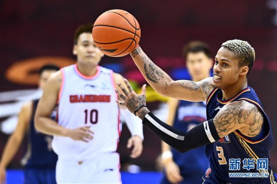 (體育)(11)籃球——CBA復賽第二階段:廣東東莞銀行勝南京同曦宙光