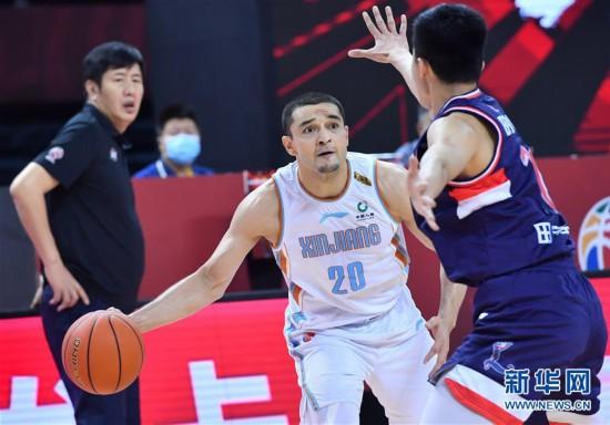 (体育)(5)篮球――CBA复赛第二阶段:新疆伊力特对阵时代中国广州