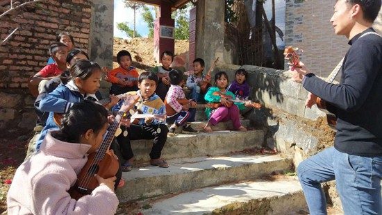 <b>音乐陪伴计划:让困境儿童获得坚强的力量</b>