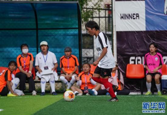 (体育)(3)西藏拉萨举办民间女子足球赛