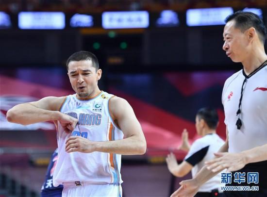 (体育)(3)篮球――CBA复赛第二阶段:新疆伊力特对阵时代中国广州