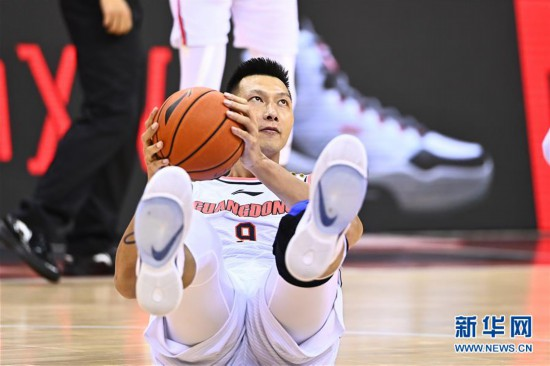 (體育)(12)籃球——CBA復賽第二階段:廣東東莞銀行勝南京同曦宙光