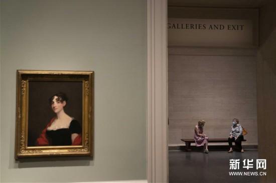 (国际疫情)(1)美国国家美术馆重新对公众开放