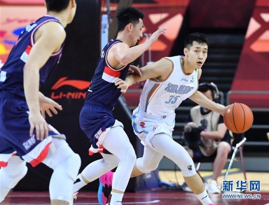 (体育)(12)篮球――CBA复赛第二阶段:新疆伊力特对阵时代中国广州