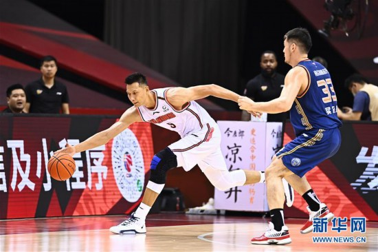 (體育)(15)籃球——CBA復賽第二階段:廣東東莞銀行勝南京同曦宙光