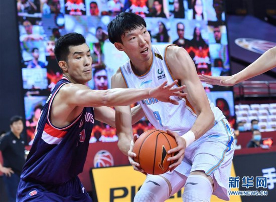 (体育)(11)篮球――CBA复赛第二阶段:新疆伊力特对阵时代中国广州