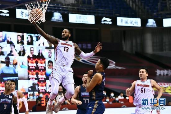 (體育)(8)籃球——CBA復賽第二階段:廣東東莞銀行勝南京同曦宙光