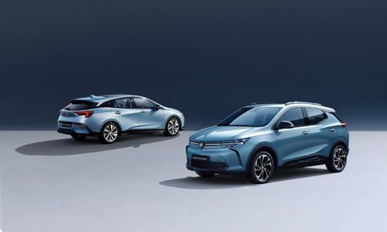 克微蓝7纯电动SUV携手微蓝6插电式混动车上市