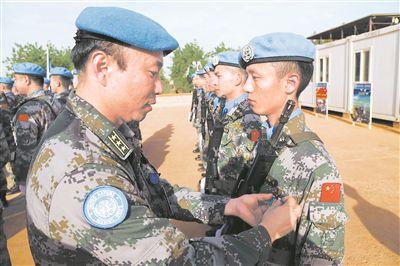 四度出征,见证中国维和军人担当