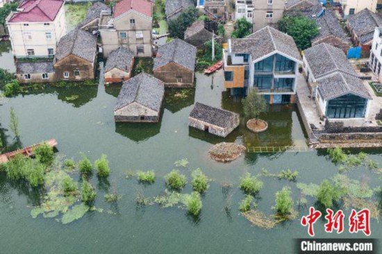 长江江苏段潮位回落洪泽湖水位缓涨