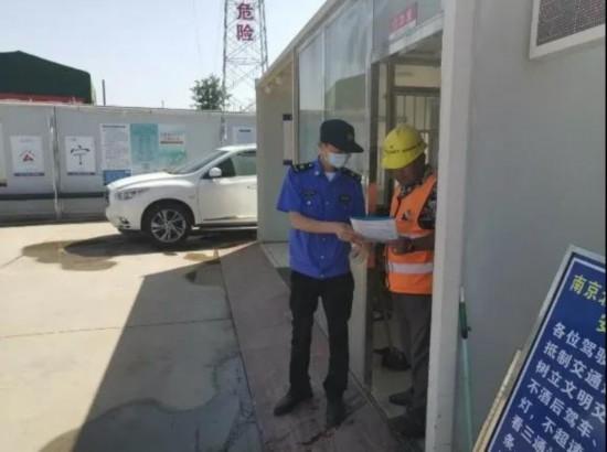 江北新區規范工地勞動用工 保障農民工權益