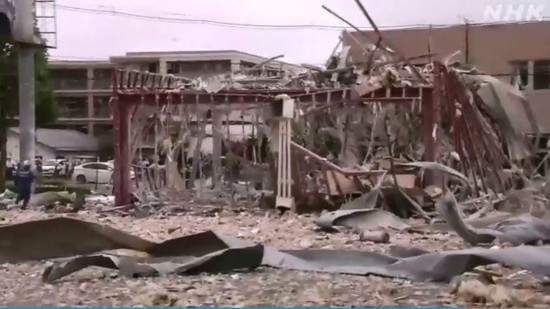 日本福岛爆炸已致1死17伤疑似火锅店液化气泄漏导致