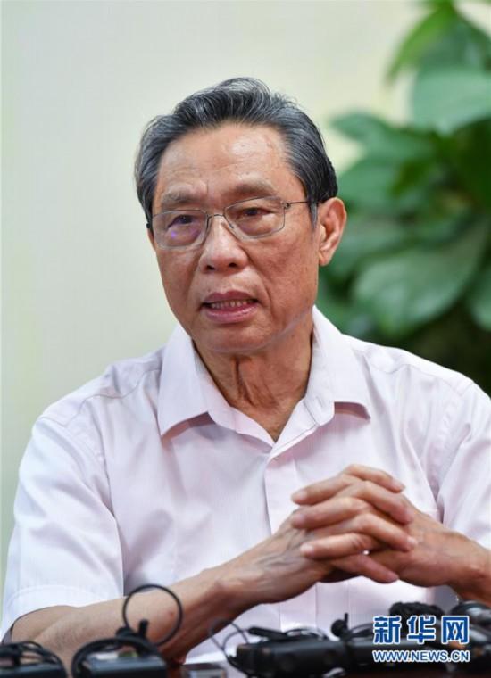 (图文互动)(3)严格防控是关键――钟南山谈香港疫情防控形势