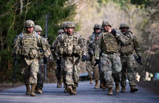 美国将从德国撤离1.2万美军