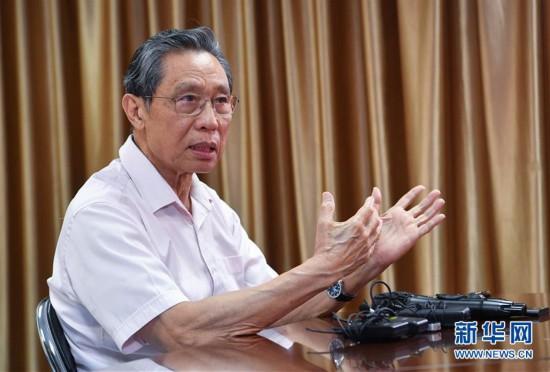 (图文互动)(2)严格防控是关键――钟南山谈香港疫情防控形势