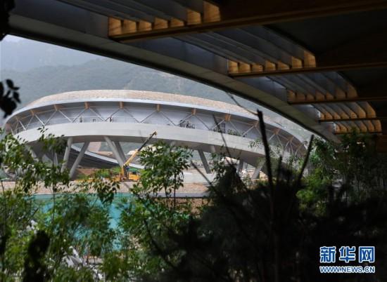 (体育)(11)探访2022北京冬奥会场馆建设现场