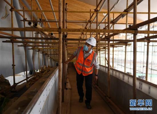 (体育)(7)探访2022北京冬奥会场馆建设现场