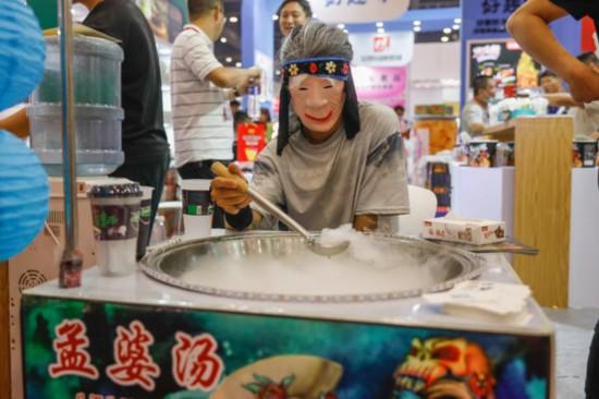 邊嘗美食邊洽談第二屆中部食品博覽會鄭州開幕