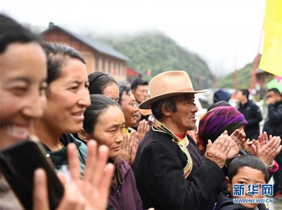 (图文互动)(2)西藏首个边境基层供销合作社在玉麦乡挂牌成立