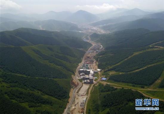 (体育)(17)探访2022北京冬奥会场馆建设现场