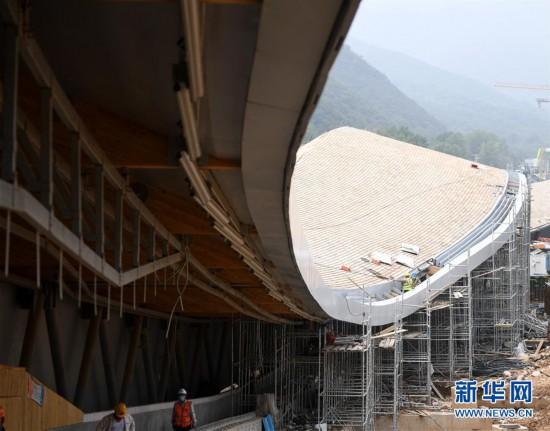 (体育)(6)探访2022北京冬奥会场馆建设现场