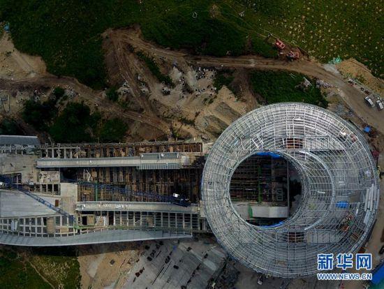 (体育)(13)探访2022北京冬奥会场馆建设现场