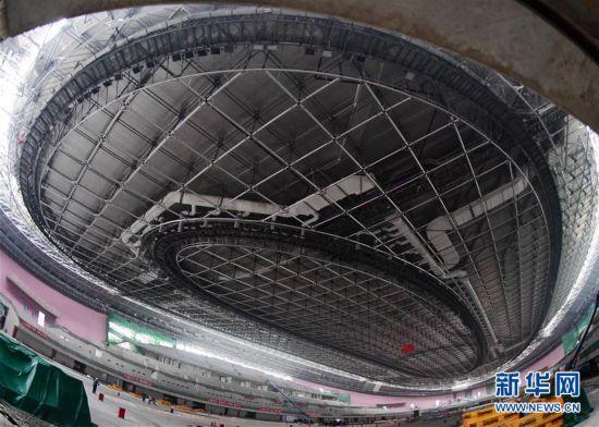 (体育)(1)探访2022北京冬奥会场馆建设现场