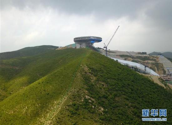 (体育)(16)探访2022北京冬奥会场馆建设现场