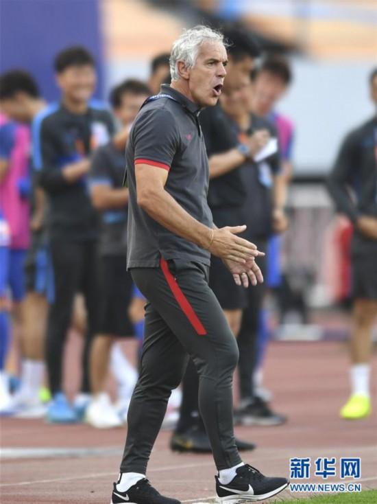 (體育)(7)足球——中超:深圳佳兆業不敵上海綠地申花