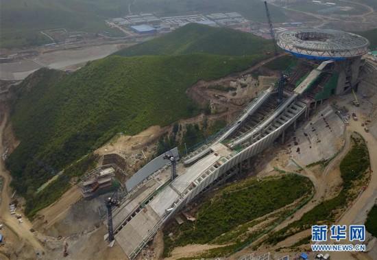 (体育)(15)探访2022北京冬奥会场馆建设现场