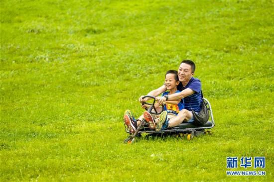 (美丽中国)(2)重庆武隆:避暑休闲游升温