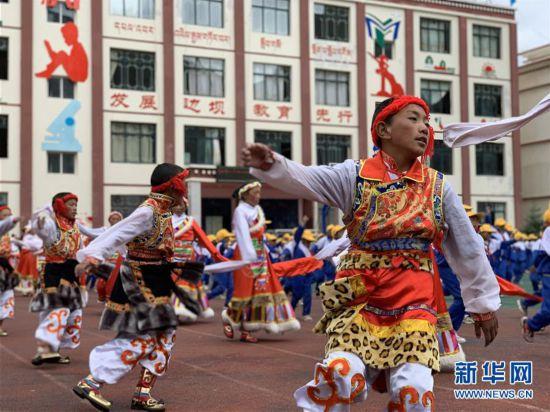 西藏昌都:乡村小学里的多彩生活