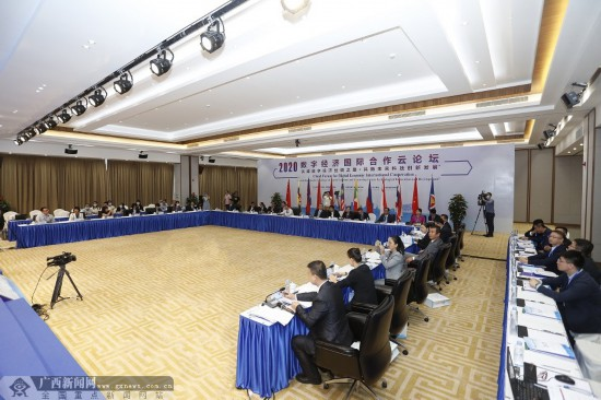2020數字經濟國際合作云論壇在南寧舉行