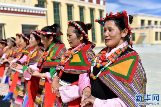 """(新华视界)(6)""""藏西秘境""""的文化瑰宝――古格宣舞"""