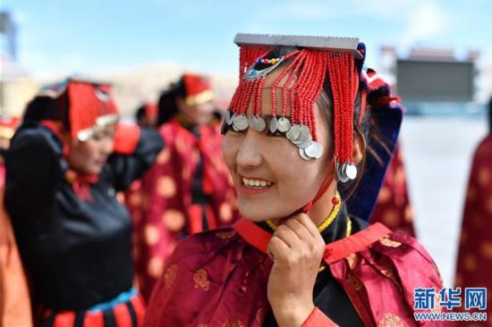 """(新华视界)(4)""""藏西秘境""""的文化瑰宝――古格宣舞"""