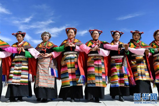 """(新华视界)(3)""""藏西秘境""""的文化瑰宝――古格宣舞"""
