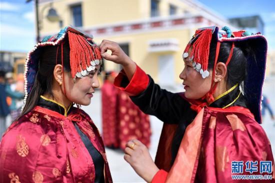 """(新华视界)(5)""""藏西秘境""""的文化瑰宝――古格宣舞"""